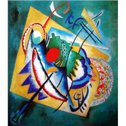 "Kandinsky ""Red Oval"""
