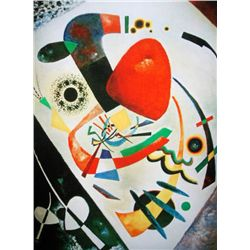 "Kandinsky ""Red Spot Ii"""