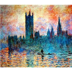 "Monet ""Houses Of Parliament"""