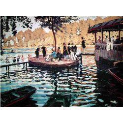 Monet  Le Grenouillere