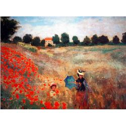 "Monet ""Poppies At Argenteuil"""