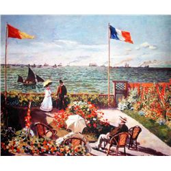 "Monet ""Terrace By The Seaside"""