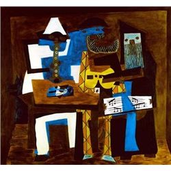 "Picasso ""Three Musicians"""
