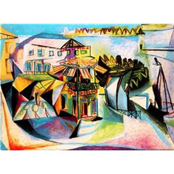 "Picasso ""Café At Royan"""