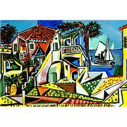"""Picasso """"Mediterranean Landscape"""""""