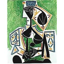 Picasso  Woman In Green