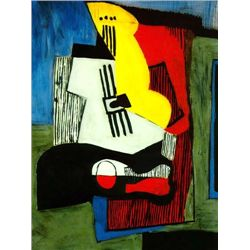 "Picasso ""Still Life With Guitar"""