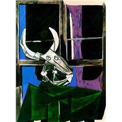 Picasso  Still Life With Steer Skull
