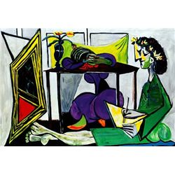 "Picasso ""Interior With A Girl Drawing"""