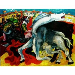 "Picasso ""Bull Fight,Death Of Toreador"""