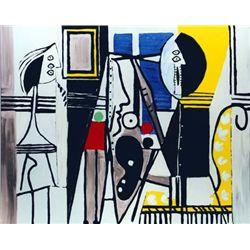 """Picasso """"Painter In The Studio"""""""