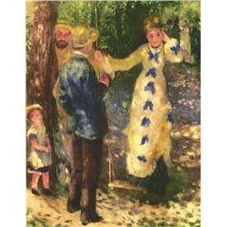"Renoir  ""La Balancoire"" Etching"