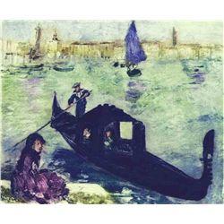 """Renoir  """"Venise"""" Etching"""