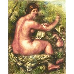 "Renoir  ""Femme Essuyant"" Etching"