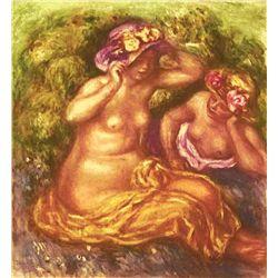 "Renoir  ""Fillette"" Etching"