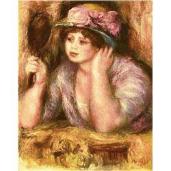 """Renoir  """"La Femme Au Mirroir"""" Etching"""