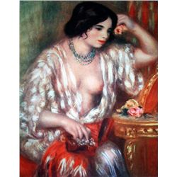 """Renoir """"Gabrielle And The Jewels"""" Ltd. Giclee'"""