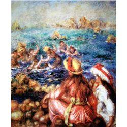 "Renoir ""Les Baigneuses"" Ltd. Giclee'"