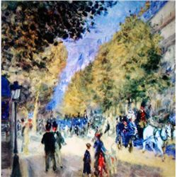 "Renoir ""The Great Boulevards"" Ltd. Giclee'"