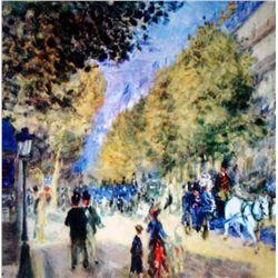 Renoir  The Great Boulevards  Ltd. Giclee'