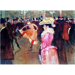 "Toulouse Lautrec ""At The Moulin Rouge Ii"""
