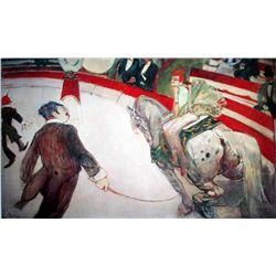 """Toulouse Lautrec """"Cirque Fernando"""""""