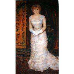 """Toulouse Lautrec """"Portrait Of Jeanne Saurary"""""""