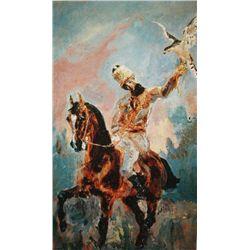 """Toulouse Lautrec """"The Falconer"""""""
