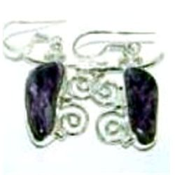 Charoite Earrings