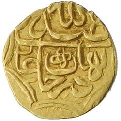 SHAYBANID: 'Abd Allah II, 1583-1598, AV 1/4 mithqal (0.76g), NM [Badakhshan], ND