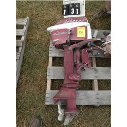7 1/2hp Johnson outboard motor
