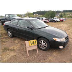 1999 Toyota Solara 2T1CG22P7XC134485