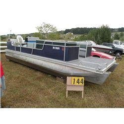 1987 Ercoa 21 ft pontoon ERC07430G787
