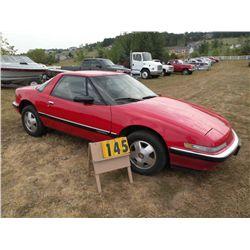 1990 Buick Reatta- Lemon Law vehicle 1G4EC13C4LB904348