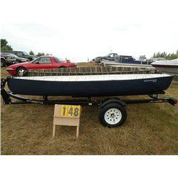 "2009 Warrior 13' 6"" canoe- Blue PU0S1007F809"