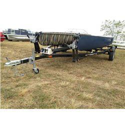 2007 Tebben 2 plc canoe trailer 4ZP44141571001800