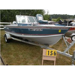 1988 Lund Tyee 5.3 boat LUNM0946H788