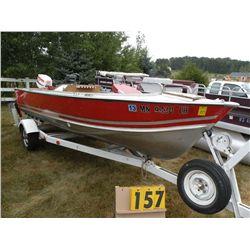 1981 Lund 16 ft boat LUNA1345M81C