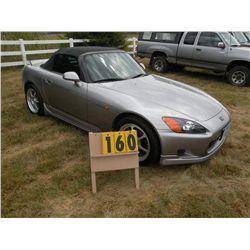 2001 Honda S2000 JHMAP11421T009627