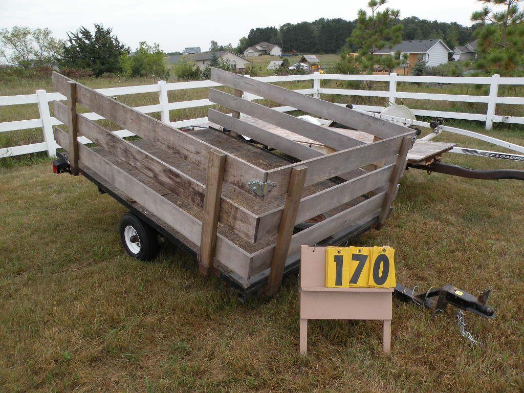 Homemade tilt trailer unable to verify vin