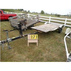 Homemade trailer- SELLS NO TITLE