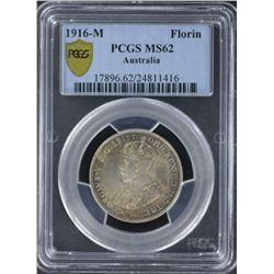 1916 Florin PCGS MS62
