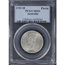 1919 Florin PCGS MS61