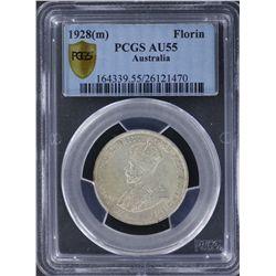 1928 Florin PCGS AU55