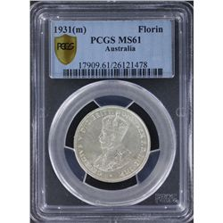 1931 Florin PCGS MS61
