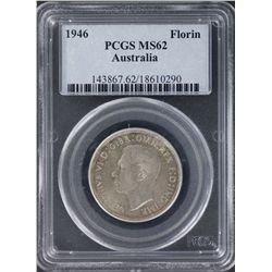 1946 Florin PCGS MS62