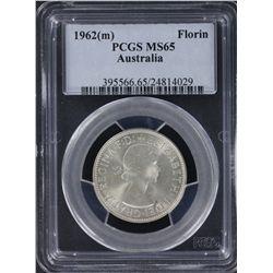 1962 Florin PCGS MS65