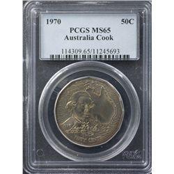 1970 50 Cents PCGS MS65