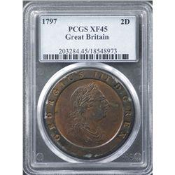 Great Britain 1797 Cartwheel 2 pence