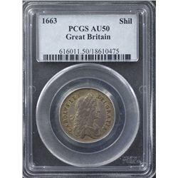 Great Britain 1663 Shilling